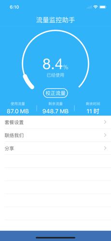 手机网络流量监控器(iPhone流量监测仪)