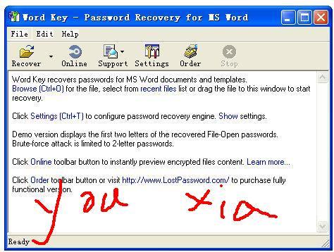 office word密碼工具