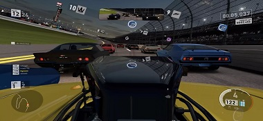 用陀螺儀控制的賽車游戲