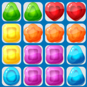 Jelly Puzzle Grid