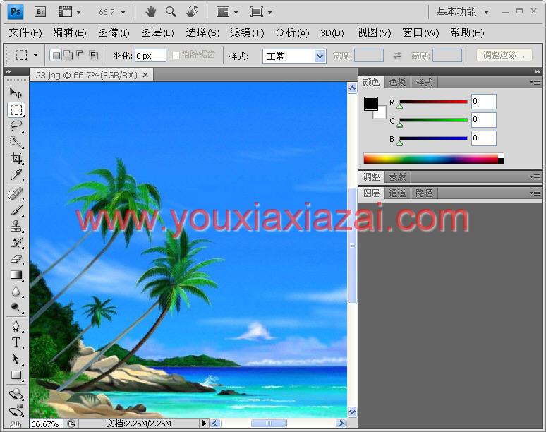 Adobe Photoshop CS4滤镜版