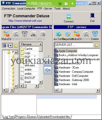 FTP Commander官方下载 FTP上传工具