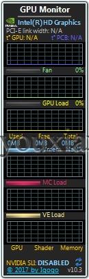 GPU Monitor中文版 win7下載 顯卡監視工具