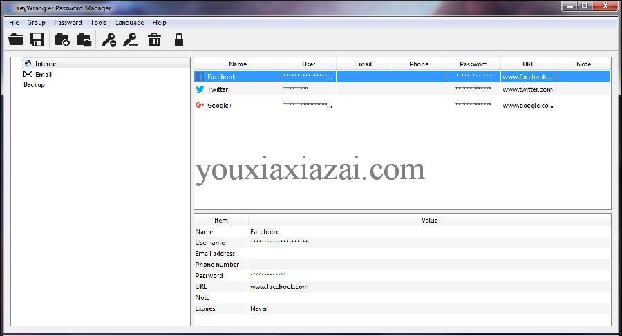 KeyWrangler密碼管理器下載 密碼管理工具