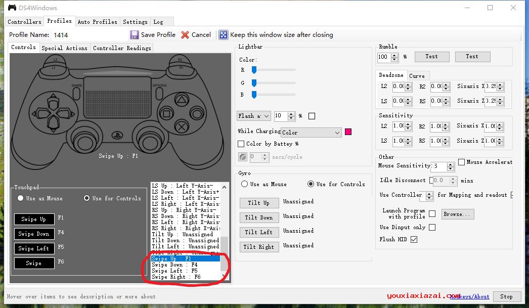 ds4windows PS4手柄控制設置軟件 ds4windows漢化中文版