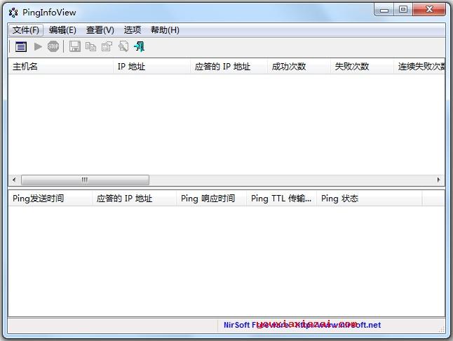 PingInfoView中文汉化版 批量Ping网络测试监控工具