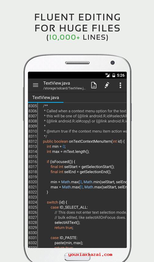 QuickEdit Text Editor 安卓手机文本编辑器
