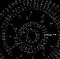 轮盘时钟动态壁纸v1.17